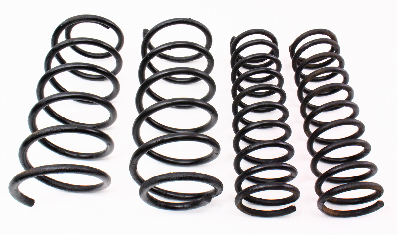 Stock Suspension Coil Springs Front Rear Set 80 84 Vw