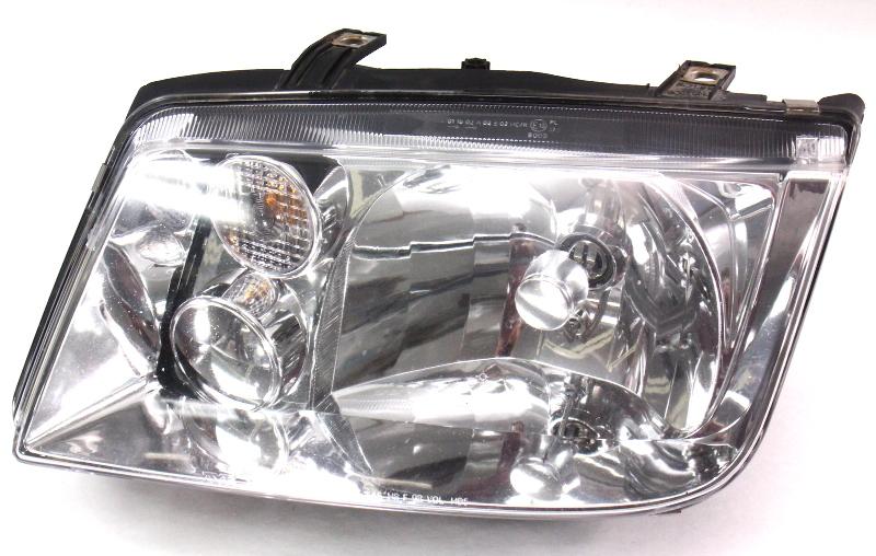 Lh Headlight Head Light Lamp 99 02 Vw Jetta Mk4 Tyc
