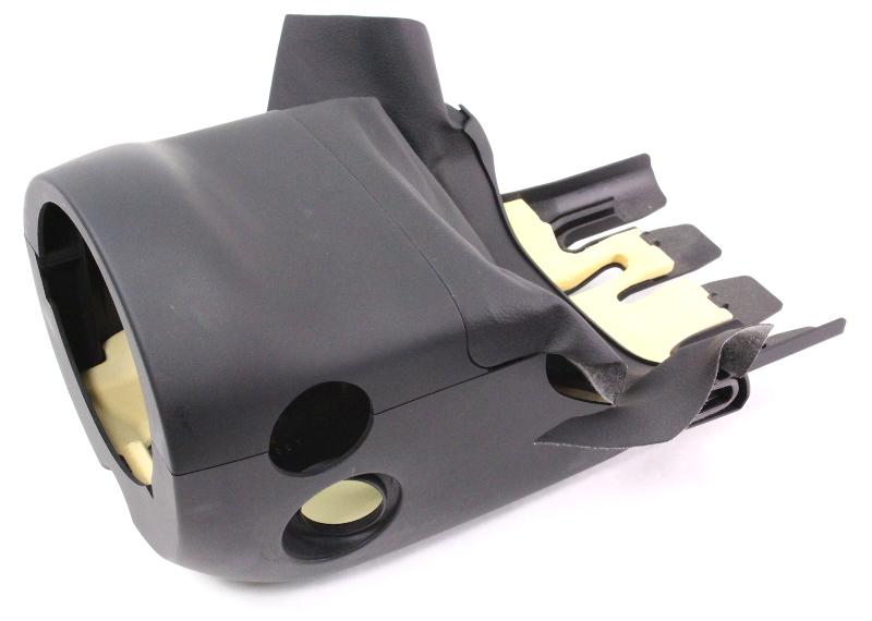 Steering Column Clam Shell Cover Trim 06-13 Audi A3 Black - 8P0 953 516 B