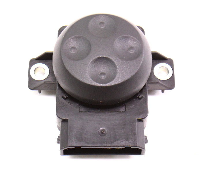 Seat Lumbar Switch Audi A4 A3 Black Genuine