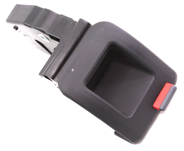 RH Rear Seat Fold Latch Lock Button 06-13 Audi A3 Black Genuine - 1K0 885 682 F