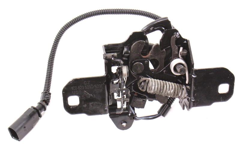 Genuine VW Hood Latch Lock 98-10 VW Beetle - Made in Germany - 1C0 823 509 D