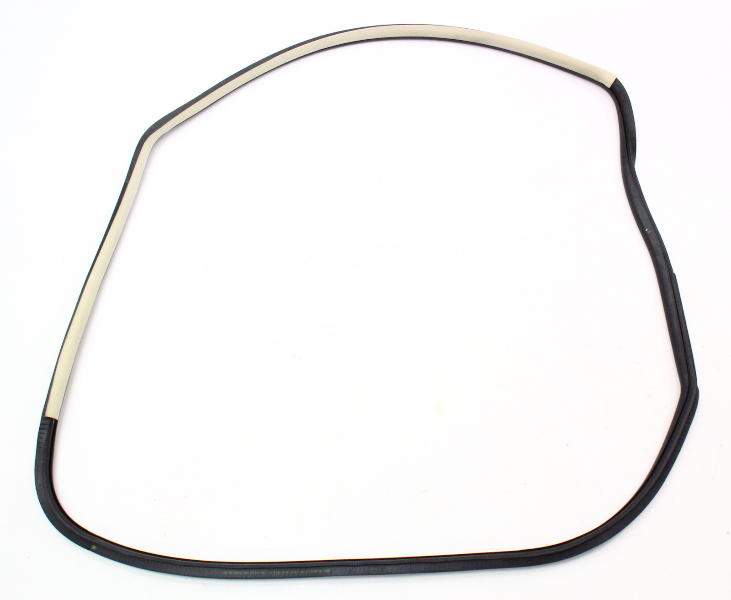 RH Door Seal Weatherstripping Rubber Cloth Trim 99-10 VW Beetle - 1C0 867 366 L