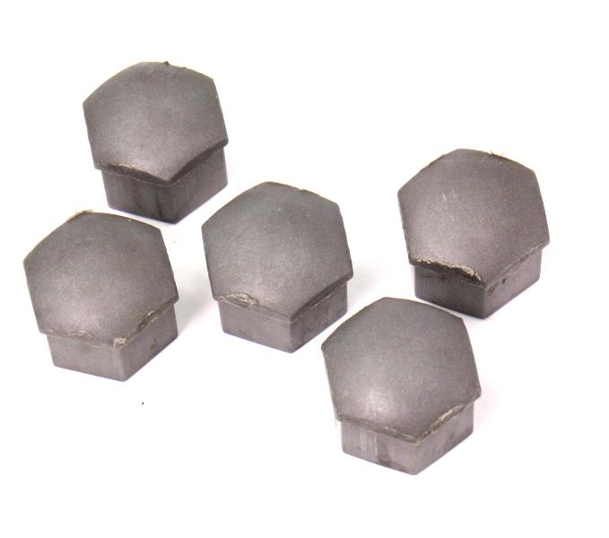 5x Lug Nut Bolt Cap Covers Set 06-13 Audi A3 - Genuine - 321 601 173 A
