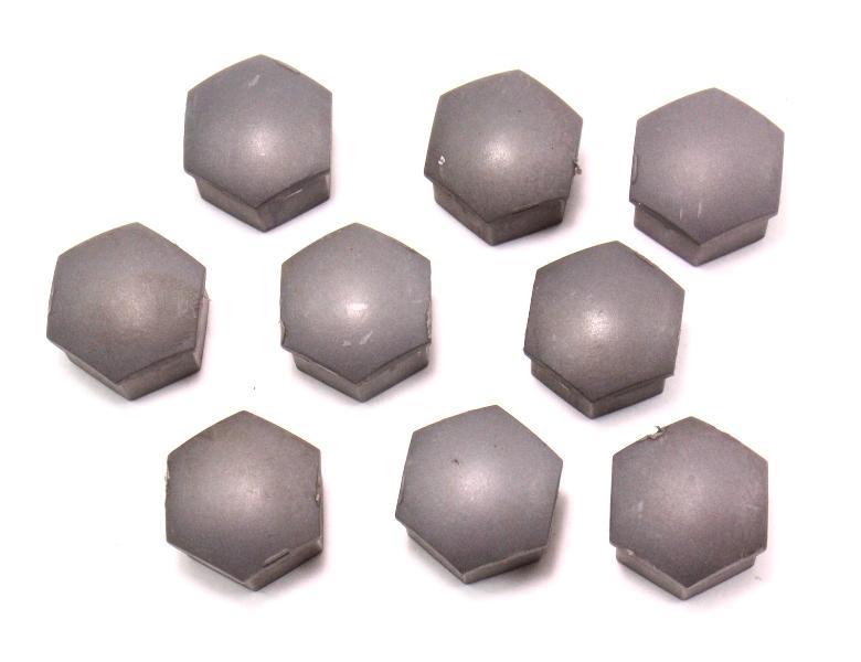 Set of 9 Lug Bolt Nut Caps Covers Audi A3 A4 A6 - 321 601 173 A