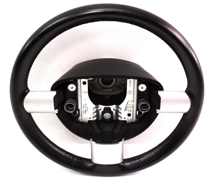 Leather Steering Wheel 98-10 Vw Beetle