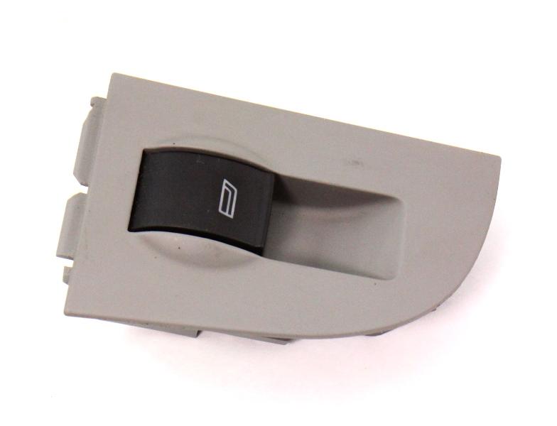 LH Rear Window Switch & Trim 98-04 Audi A6 S6 C5 Allroad