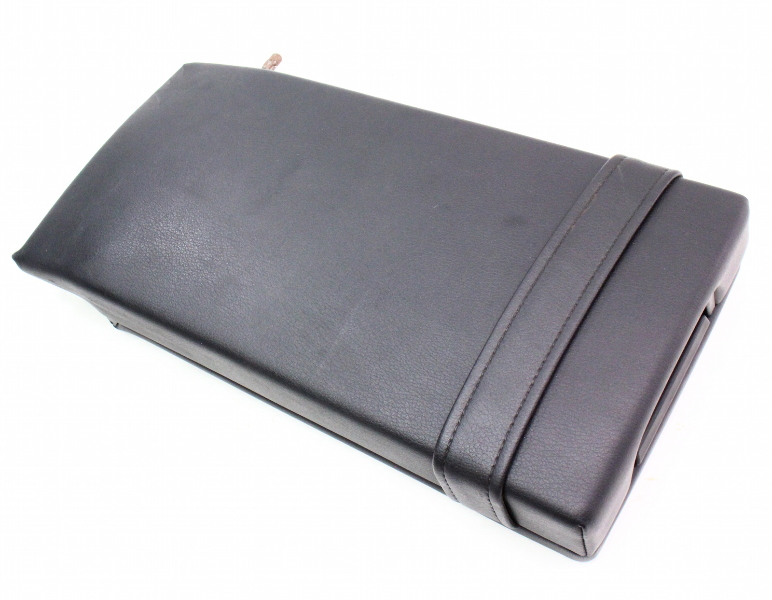 Rear Seat Armrest Arm Rest Black 96-02 Audi A4 B5 - Genuine