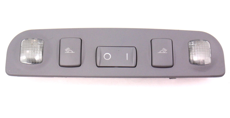 Rear Dome Map Light Switch Gray 99-02 Audi A4 B5 Genuine - 8D0 947 111 A 1EU