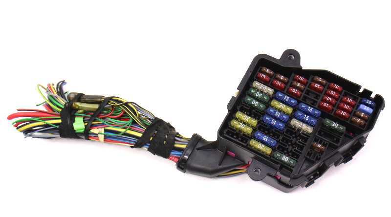 98 audi a4 fuse box dash fuse box panel & wiring harness pigtail 96-02 audi a4 ... audi a4 fuse box under hood #13