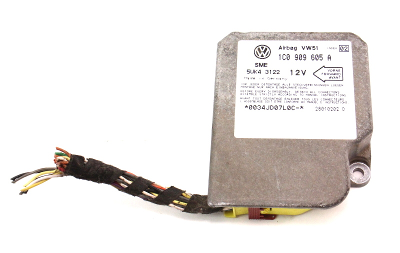 airbag computer module 02-03 vw beetle air bag