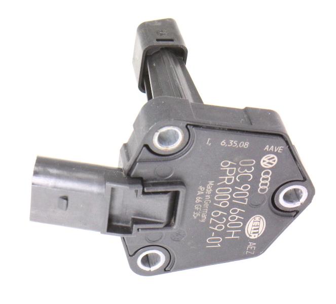 Engine oil level sensor 09 12 audi a4 b8 a5 2 0t caeb tfsi 03c 907 660 h Audi a5 motor oil