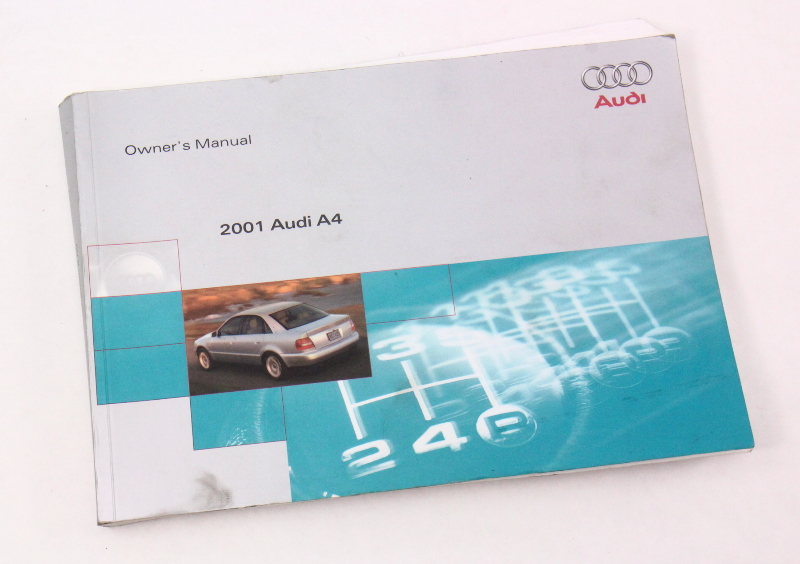 2001 Audi A4 B5 Owner's Manual Case Operation Book - Genuine