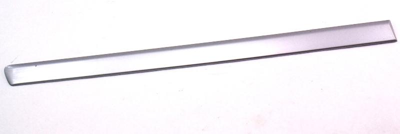RH Rear Center Belt Line Door Molding Trim 02-05 Audi A4 B6 Silver - 8E0 853 964