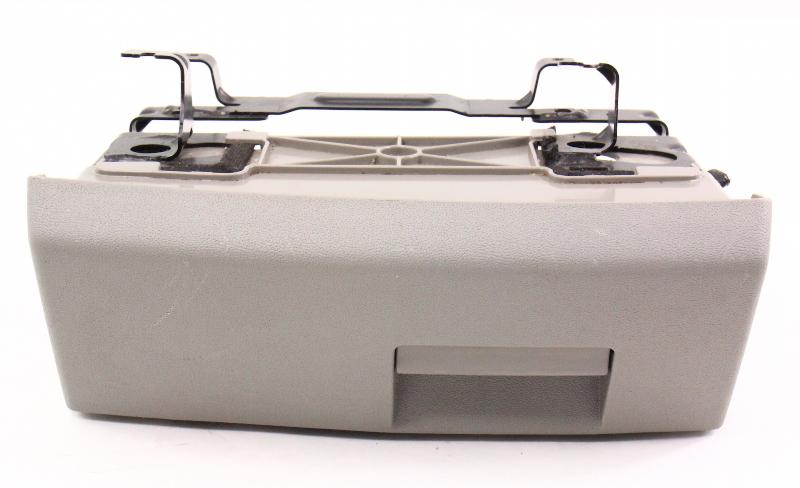 RH Under Seat Storage Cubby Drawer 02-05 Audi A4 B6 Compartment - Grey