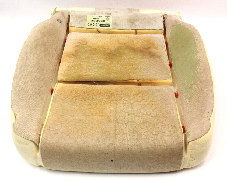 Front Seat Cushion Foam Audi A4 02-05 B6 - Heated - Genuine