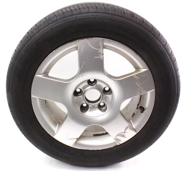 full size spare alloy wheel rim tire 16 5x112 vw audi a4 b6 8e0 601 025 c carparts4sale inc. Black Bedroom Furniture Sets. Home Design Ideas