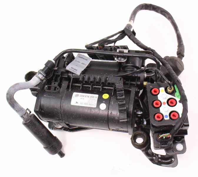 Air Suspension Compressor Pump 04-06 Vw Phaeton