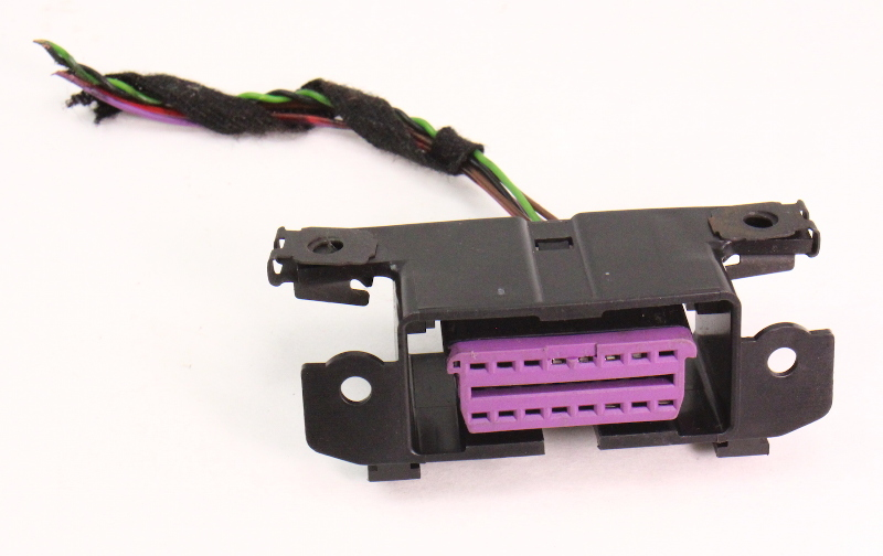 Obd Scan Port Connector Pigtail Wiring Plug 04 06 Vw