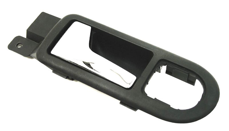 Lh Front Door Pull Handle Dark Gray Vw Jetta Golf Mk4