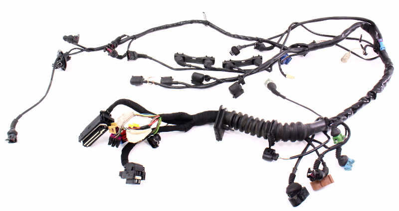 engine wiring harness 1 8t aeb 1998 98 audi a4 vw. Black Bedroom Furniture Sets. Home Design Ideas