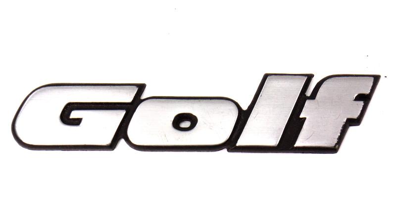 Trunk Hatch Rear Emblem Badge Logo Vw Golf Iii Mk3 - Genuine