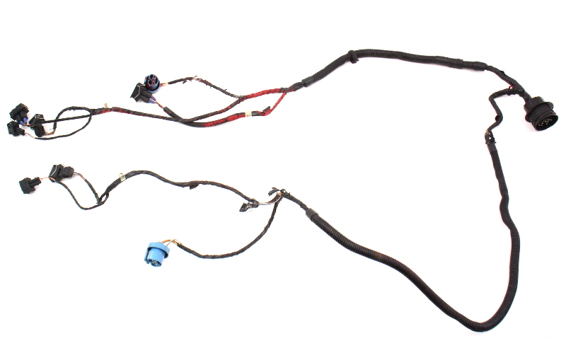 Headlight Wiring Harness Non Fog 93 99 Vw Jetta Golf