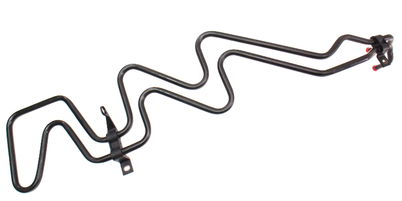 power steering cooler line hose 98