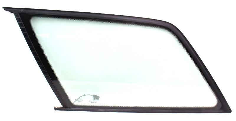 lh rear side quarter window glass 98 00 audi a6 c5 wagon