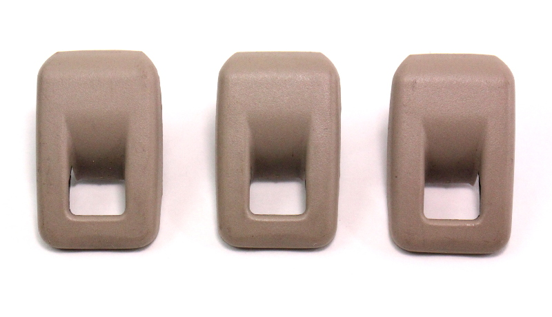 Child Safety Seat Latch Restraint Hooks Amp Covers Gray Vw