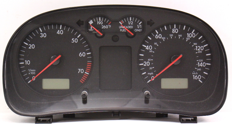 Gauge Instrument Cluster 00 01 Vw Jetta Golf Mk4
