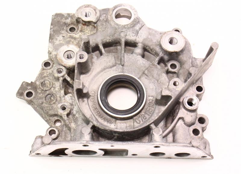 Oil Pump Crank Flange Plate 1998 Audi A4 B5 2 8 30v V6