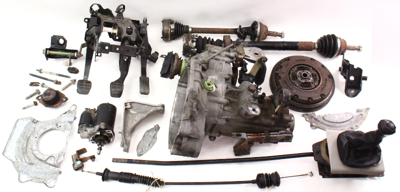 manual transmission swap parts kit vw jetta gti cabrio mk  speed  aba