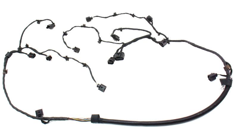 rear bumper parking distance sensor wiring harness plugs 04 06 vw rear bumper parking distance sensor wiring harness plugs 04 06 vw phaeton