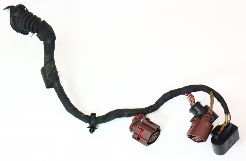 o2 Oxygen Sensor Wiring Harness Plugs Pigtails 04-06 VW Phaeton 4.2 V8 - Genuine