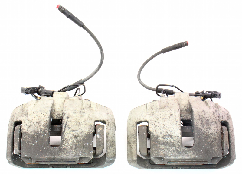 Front Big Brake Dual Piston Calipers  U0026 Carriers 04