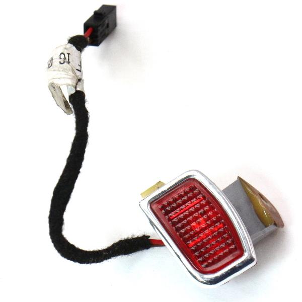 LH Front Door Panel LED Red Light 04-06 VW Phaeton - Genuine - 3D0 947 411