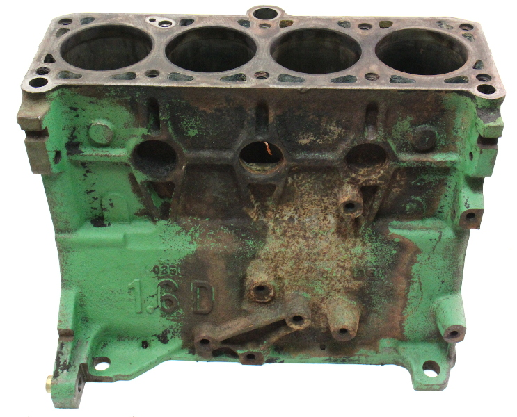 1 6l Diesel Cylinder Block 81 84 Vw Rabbit Pickup Jetta