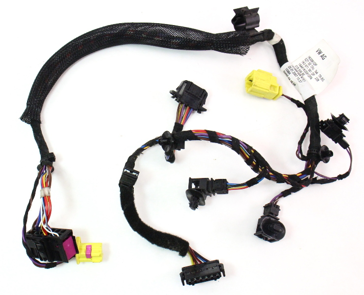 lh front seat wiring harness 06 09 vw rabbit gti mk5 side air bag 1k0 971 391 dp carparts4sale