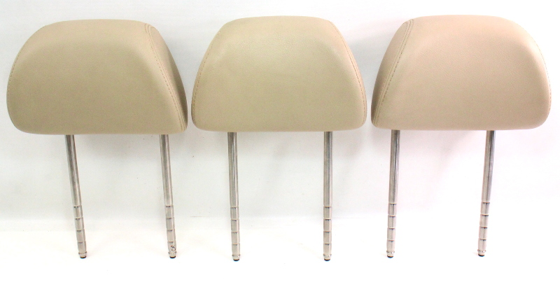 Cp Rear Seat Headrest Set Vw Jetta Golf Gti Mk Beige Leather Head Rest on 2004 Vw R32 Fuse Diagram