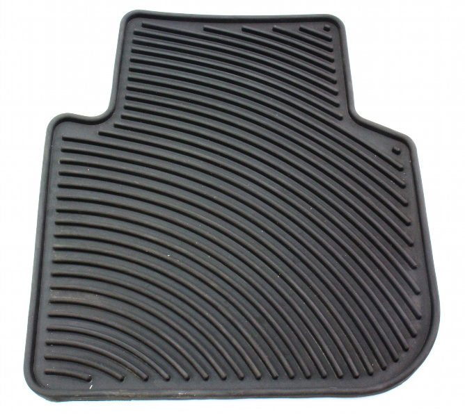Lh Rear Rubber Floor Mat 12 14 Vw Passat B7 Genuine