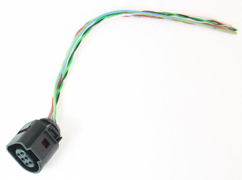 O2 Sensor Pigtail Plug Connector Vw Jetta Golf Mk4 Beetle Bew Tdi