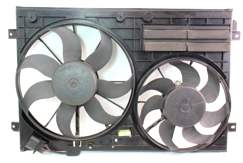 Cooling Fans & Shroud Assembly 2006 VW GTI Golf Passat 06-07 - 1K0 121 205 G