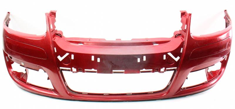 Front Bumper Cover 05 10 Vw Jetta Mk5 Sedan La3w Red