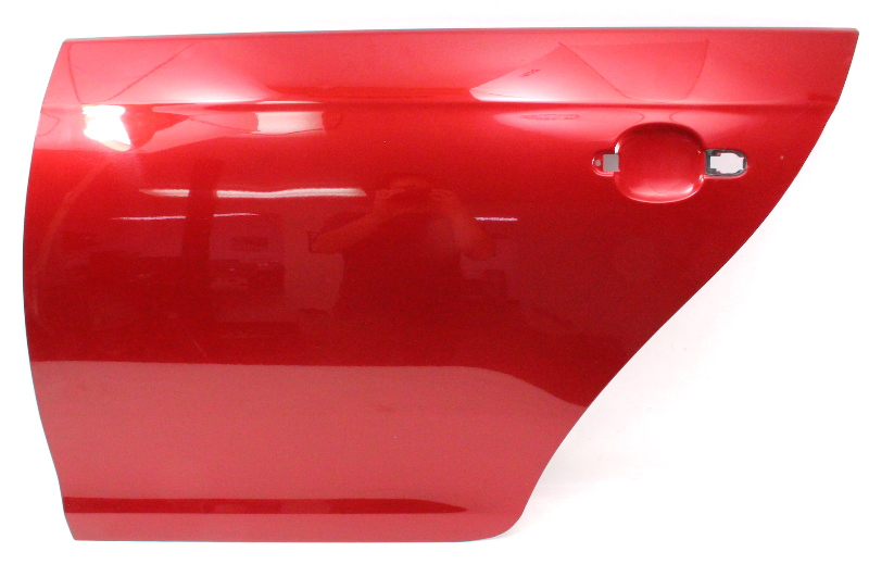 Lh Rear Door Shell Skin 05 10 Vw Jetta Mk5 La3w Red