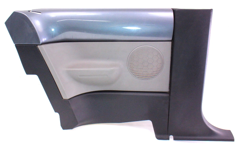 Lh Rear Door Interior Side Panel Trim 98-05 Vw Beetle Ld7x Grey