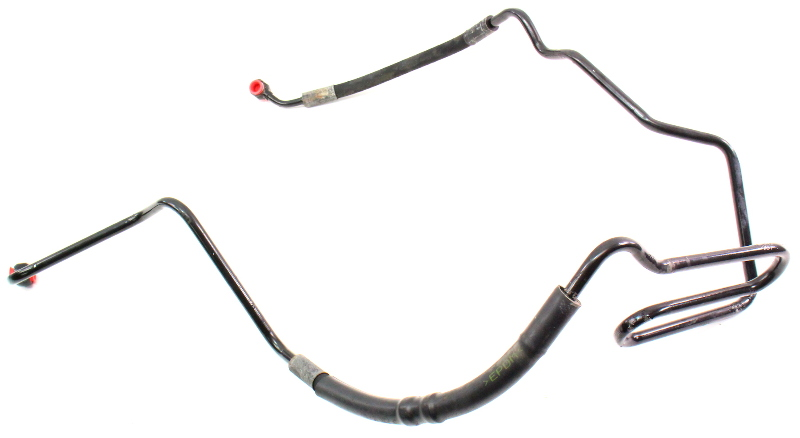 power steering line hose 02-05 vw beetle tdi diesel - genuine