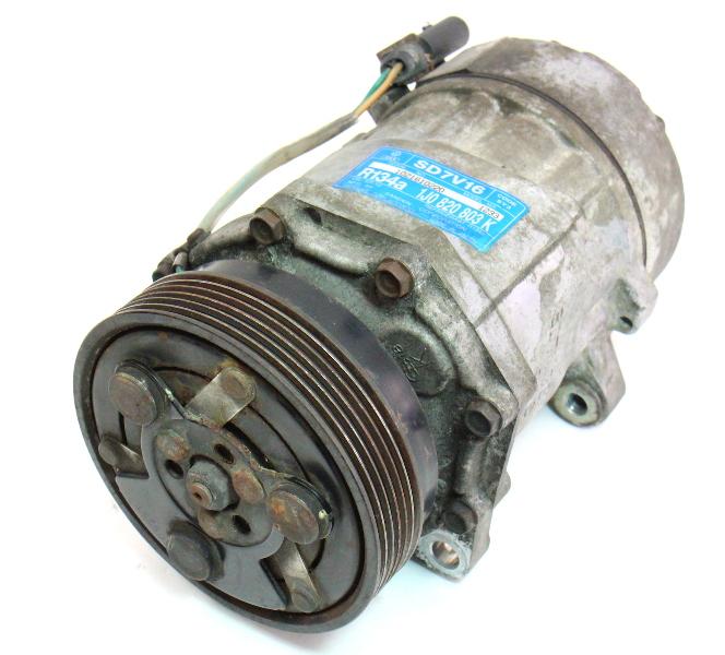 Ac Compressor Vw Jetta Golf Gti Beetle Audi Tt Genuine