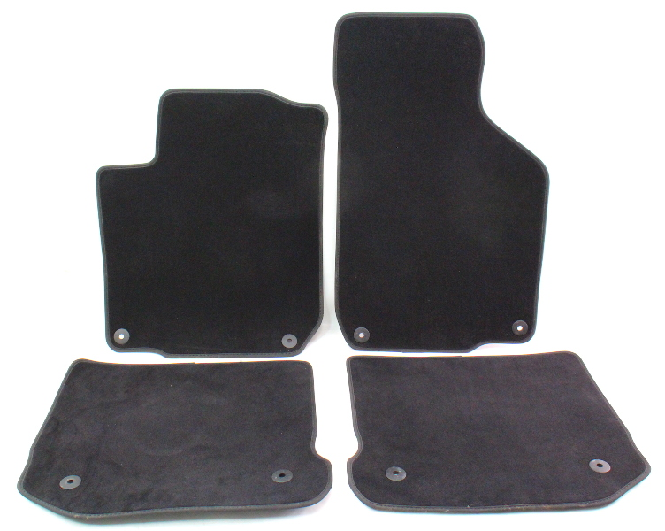 Floor Mat Set Carpet Set 98 05 Vw Beetle Black Genuine