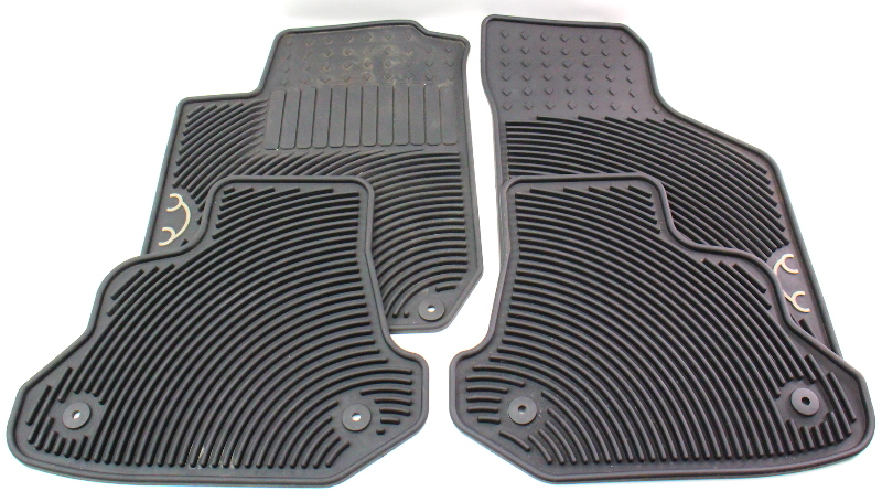 Monster Mat Rubber Floor Mat Set 98-10 Vw Beetle